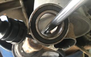 Замена подвесного подшипника привода и сальника Nissan Qashqai