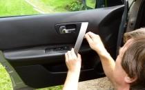 Как снять обшивку передней двери на Ниссан Кашкай