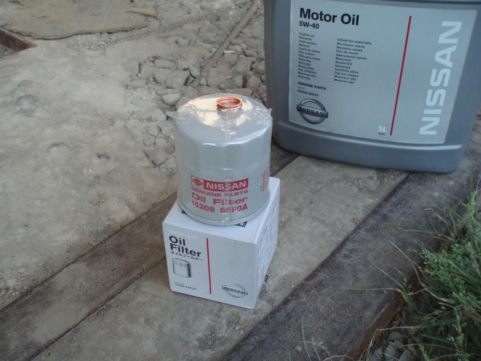 масляный фильтр ниссан кашкай