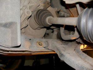 Замена заднего сайлентблока переднего рычага Ниссан кашкай